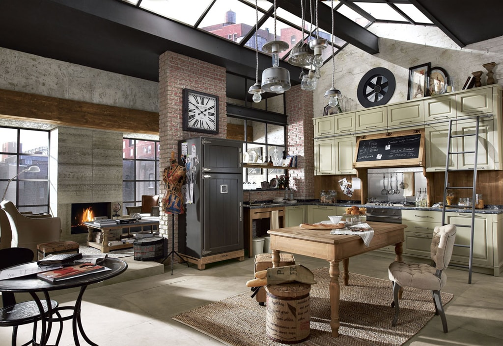 25 ideas para una cocina de estilo industrial cocinas for Decoracion industrial