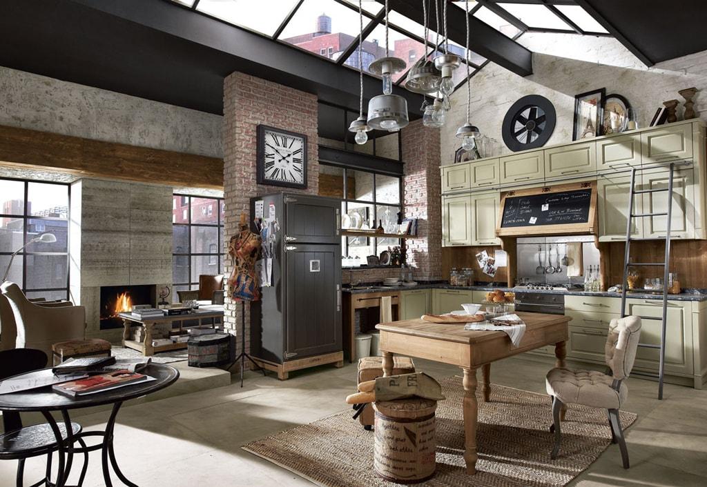 25 ideas para una cocina de estilo industrial  Cocinas