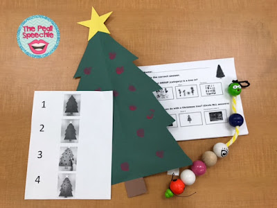 Expanding Expression Toolkit- EET speech therapy ideas for Christmas