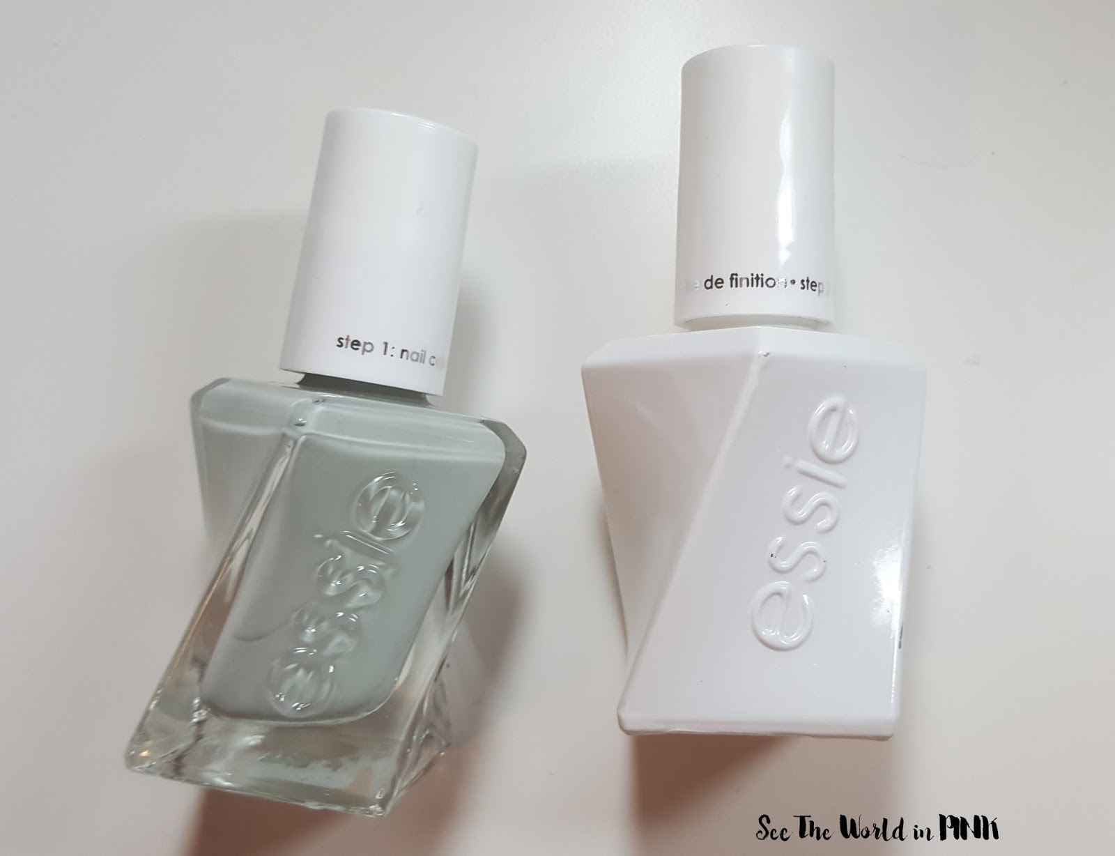 "Manicure Tuesday - Essie Gel Couture Polish in ""Sage You Love Me"""