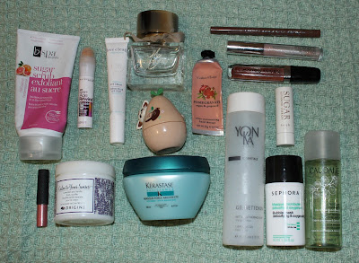 January 2017 Empties