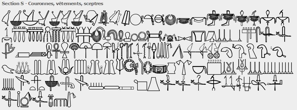 33d9bbe223fe5 Egyptian Signlist from Rosetta Project Website