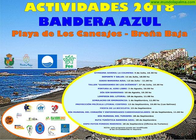 LOS CANCAJOS: Actividades Bandera Azul