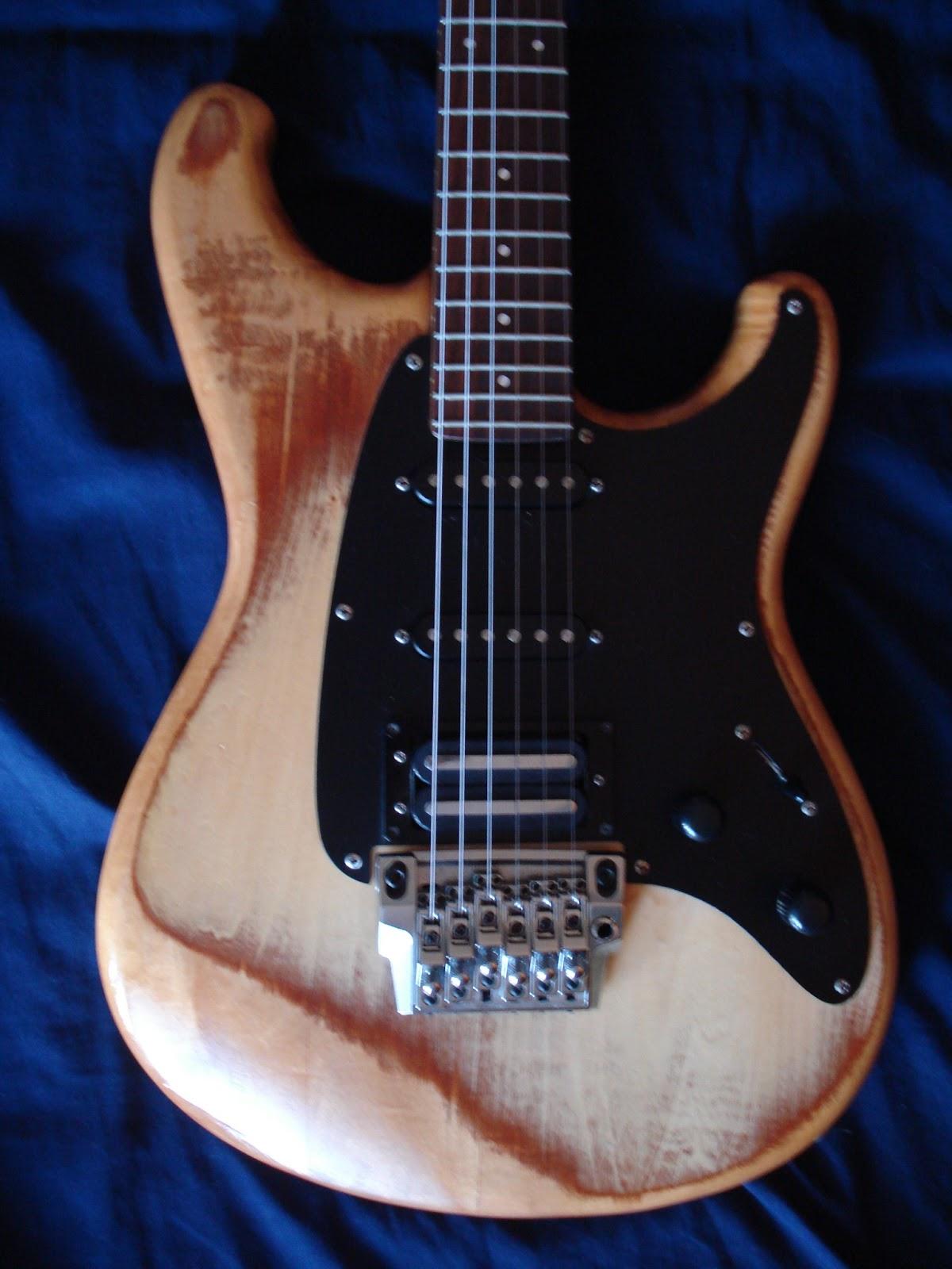 Japan Finish Made Natural Guitar Ibanez
