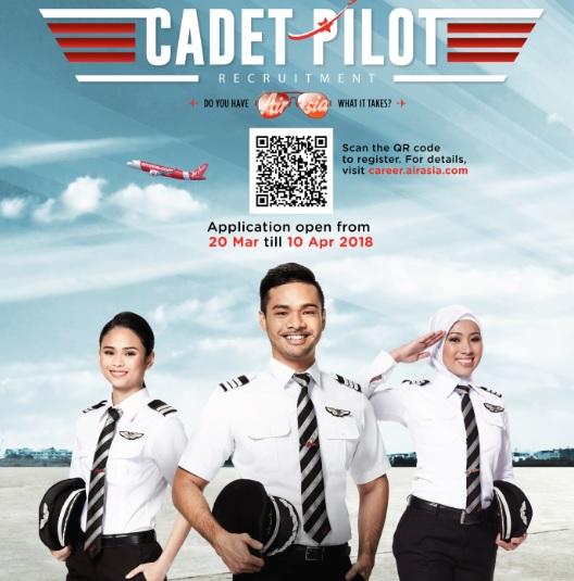 Fly Gosh Air Asia Pilot Recruitment Cadet Pilot 2018 Application Now Open