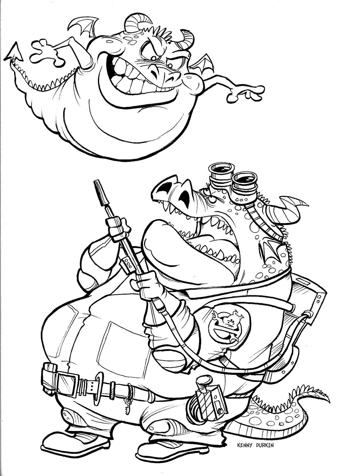 Durkinworks Ghostbusters Dragon