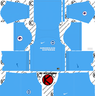 Brighton & Hove Albion FC 2018/19 Kit - Dream League Soccer Kits