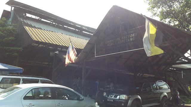 Charcoal Factory @ Kuala Sepetang