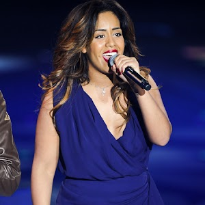 Amel Bent: extra at the Olympia