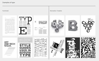 functional and decorative typography design