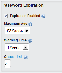 Liferay Password Expiration