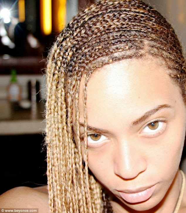 keeping up with sandy rose get beyonces braids photos