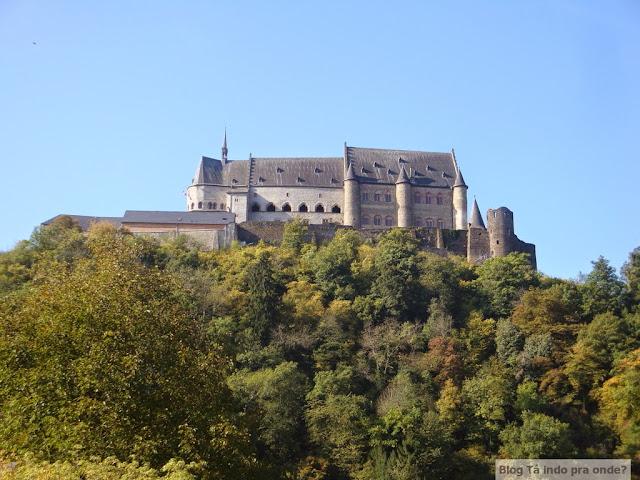 castelo de Vianden, interior de Luxemburgo