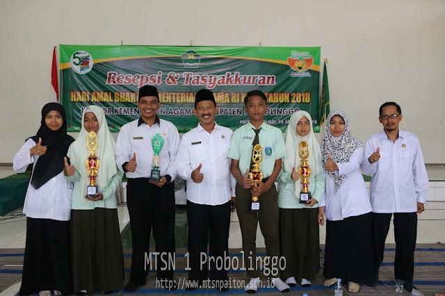 MTsN 1 Probolinggo Lanjutkan Juara KSM Ke Tingkat Kabupaten