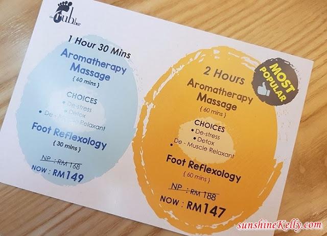the rub bar kl, the rub bar, red hotel kl, massage, foot reflexology, massage parlor in kl, massage parlour, spa experience