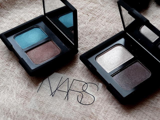 NARS Duo Eyeshadows in Chiang Mai and Thessalonique