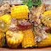 Costelinha de porco com milho verde