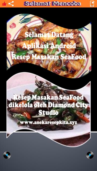 Terbaru !!! Aplikasi Android Gratis Resep Masakan Seafood