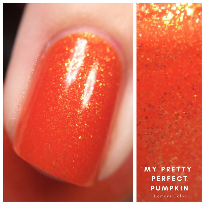 Domani Color My Pretty Perfect Pumpkin
