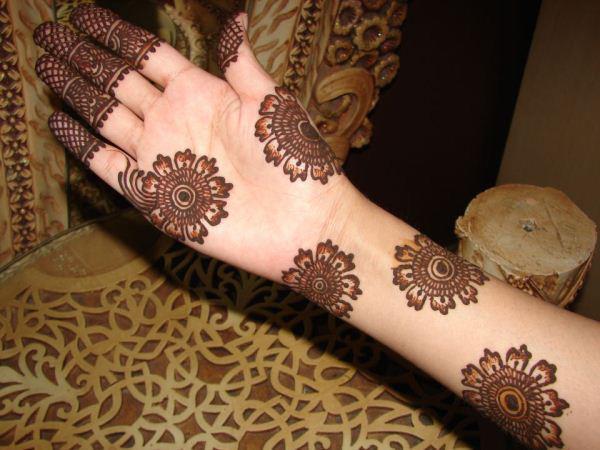Mehndi Art Simple : Simple mehndi designs for beginners bling sparkle
