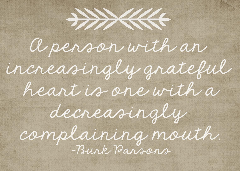 Thankful Quotes: November 2012