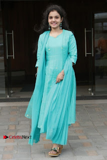 Tamil Actress Preethi Stills in Green Salwar Kameez at Kuzhalosai 2nd Anniversary Fund Raising Event  0043.jpg