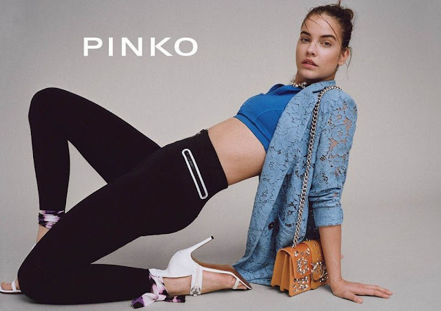 HD Photo Shoot of Sexy Model Barbara Palvin For Pinko Spring Summer 2018 campaign