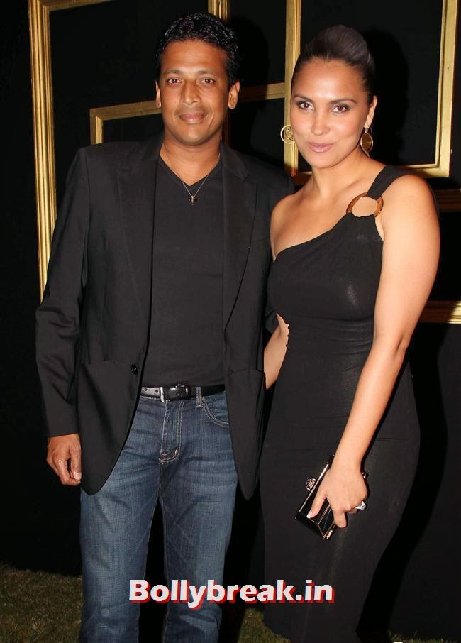 Mahesh Bhupathi and Lara Dutta, All Bollywood Celebs at Deepika Padukone Golden Party