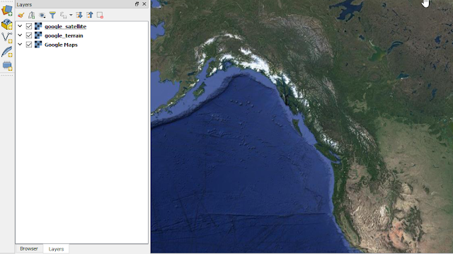 Google Satellite Layer in QGIS 3