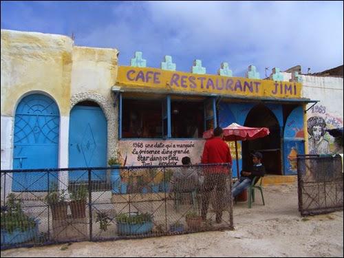 Café Jimi Hendrix à Diabat