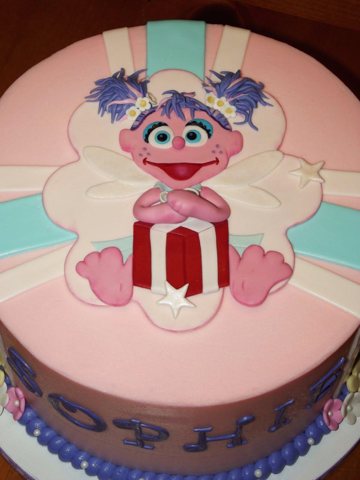 Suzy S Sweet Shoppe Sesame Street Abby Cadabby Cake