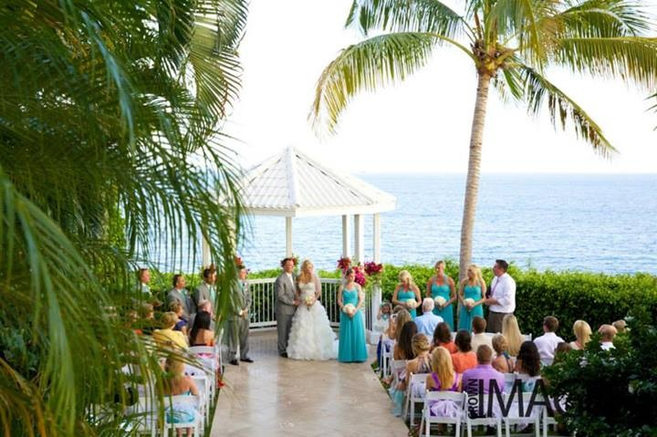 Ceremony At The Marriott Frenchman S Reef Gazebo