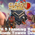 Desain Base Farming TH 9 COC Update Bomb Tower Terbaru 2017