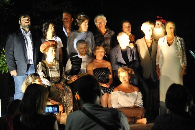 """Con """"Dell'Amore le parole"""" anche LIBER theatrum al Teatro Romano di Ventimiglia"""