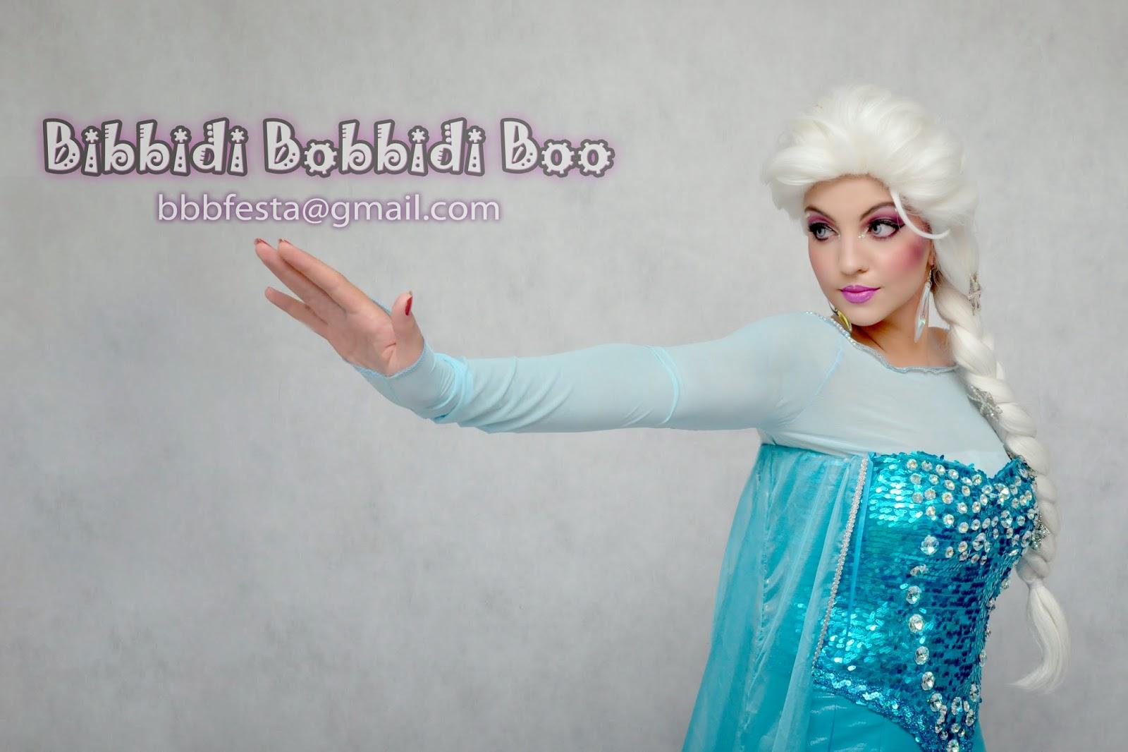 Elsa Saudades De Voces: Bibbidi Bobbidi Boo: Elas Chegaram! Personagens Vivos
