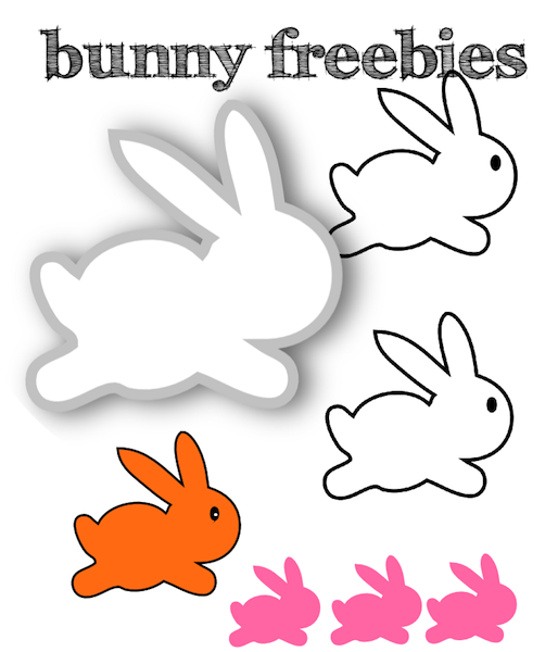 clipart image easter bunny silhouette - photo #43