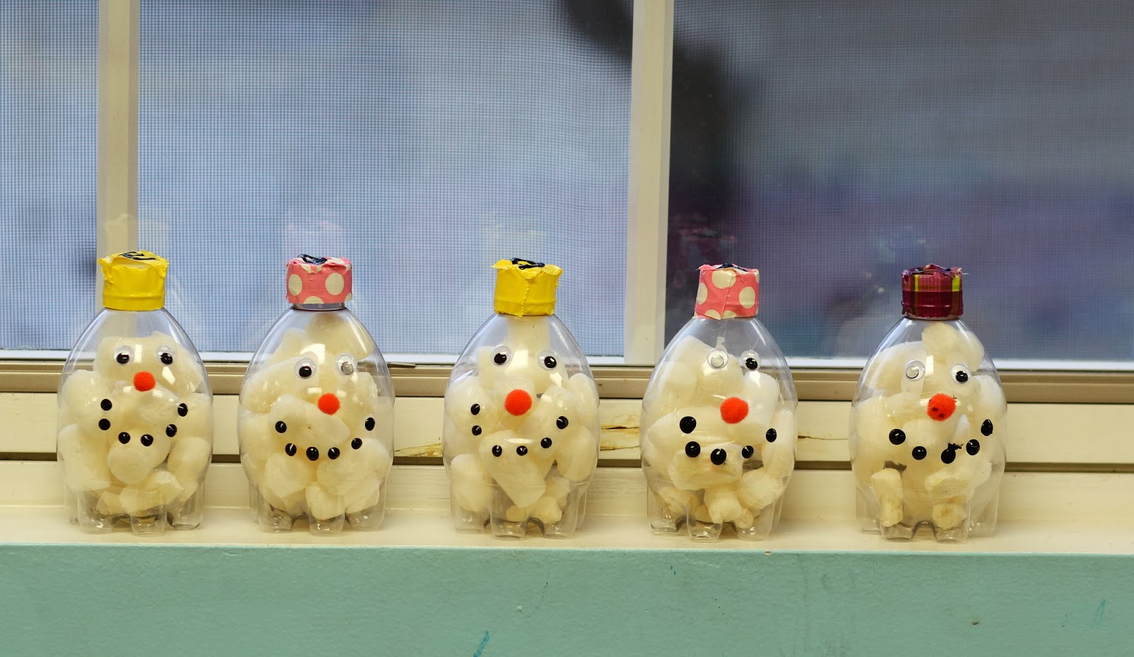 Teach Them To Fly Counting Snowballs To Make A Recycled Snowman