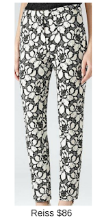 Sydney Fashion Hunter - She Wears The Pants - Reiss Floral Women's Work Pants