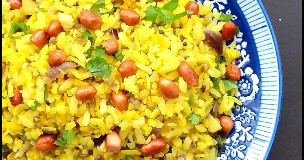 Mm S Kitchen Bites Kanda Batata Poha Bring Out The Sun