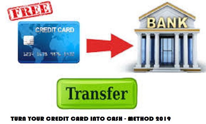 Turn your Credit card CC into Cash Method - KpoyagaHack