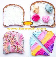 أفكار بخبز التوست بالكريمة