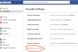How to Deactivate your Facebook Account?