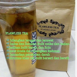 FLAWLESS TEA BY MEDINA DESIRE