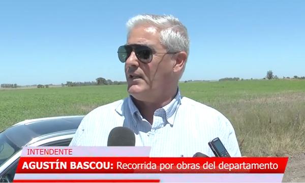 AGUSTÍN BASCOU - intendente de soriano