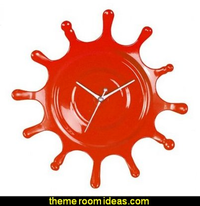 Splat Clox Wall Clock