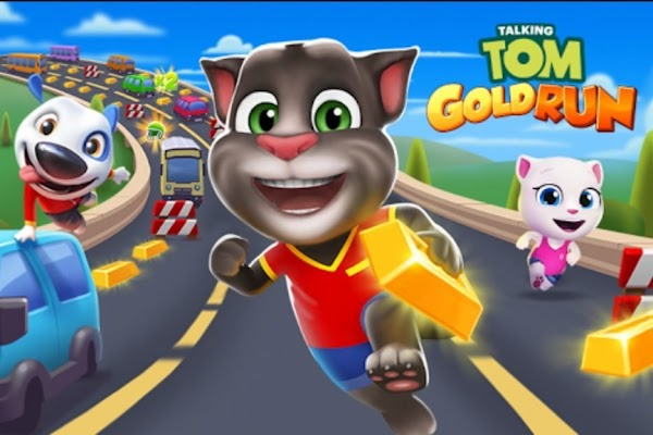 Descargar Talking Tom: Run for Gold [MOD][APK][DINERO INFINITO]