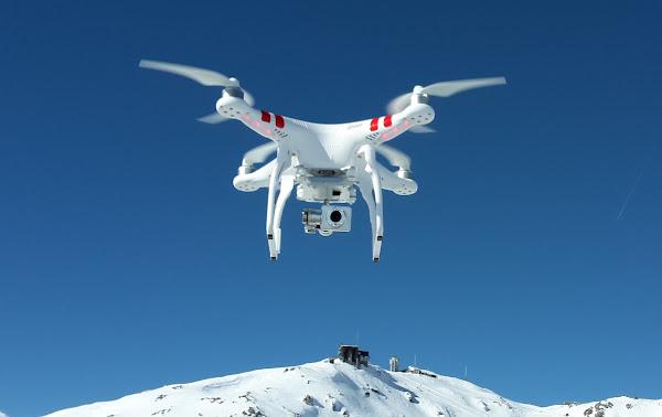 無人機示意種創造性科技發展,同時也具有取代效用