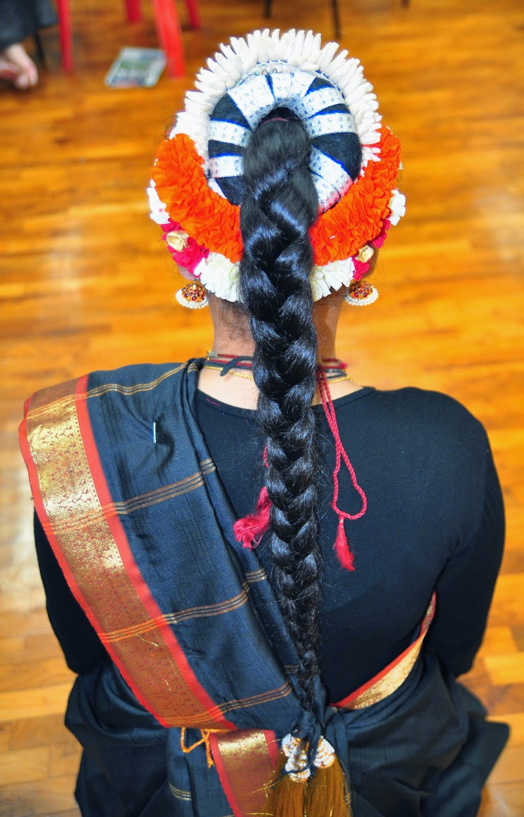bharatanatyam hair style pushpaarpanam different hair styles and 8134 | DSC 0019