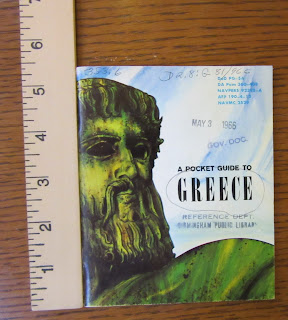 Greece Pocket Guide Being Measured