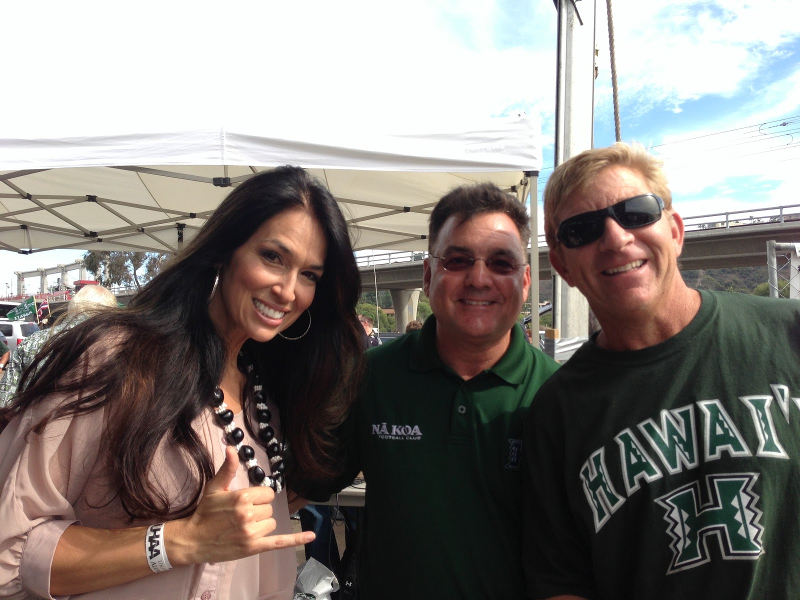 Taste Of Hawaii Hawaii Vs San Diego State Tailgate Party